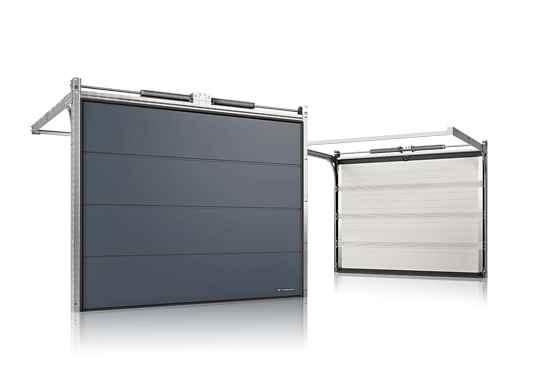 секционна гаражна врата 60 мм панел