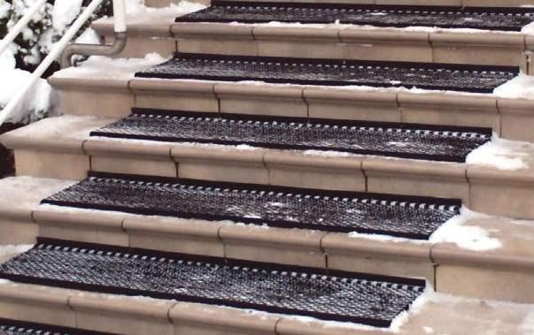Противоплъзгаща изтривалка за стълби