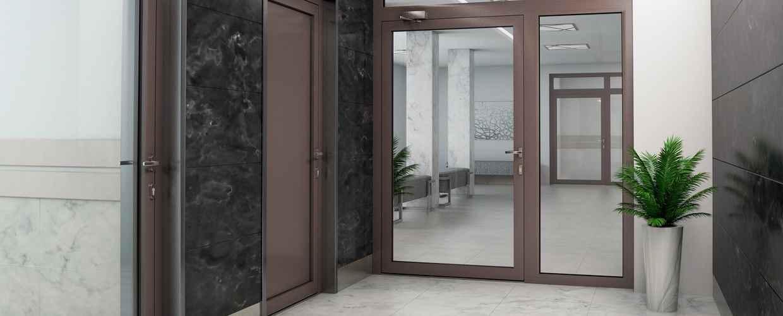 противопожарни врати от алуминий