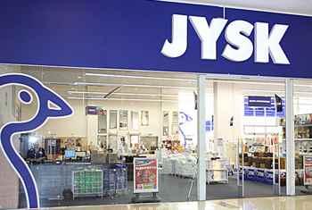 Верига магазини JYSK - гр. Сливен и Шумен